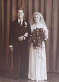 The Wedding of Algie and Ivy Rogers of Pymoor, 1939.