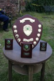 The Trophies at the Roger Parson Memorial Charity Fishing Match 2010.