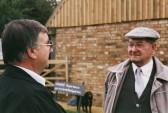 Roger Parson & Ben Easey of Pymoor, 2001.