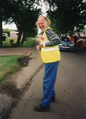 Tony Rudderham at the Pymoor Show 2002