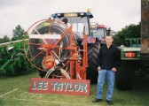 Lee Taylor's stand at the Pymoor Show 2002