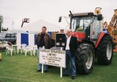 Anglia Sprayers Stand at the Pymoor Show 2002