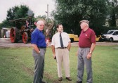 Des Baker, John Pinnells & Alan White at the Pymoor Show 2002