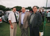 John Pinnells, Basil Taylor & Roger Parson at the Pymoor Show 2002