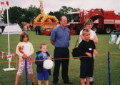 Ian & Karen Page of Pymoor with their family at the Pymoor Show 2002
