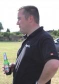 Mark Taylor on the Pymoor Show Ground off Pymoor Lane, Pymoor 2012.