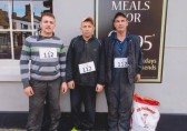 Ben, Anthony & Kenny Smith of Laurel Farm, Little Downham/Pymoor, took part in the first ever Potato Race down Ely High Street 2012.
