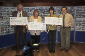 The final Pymoor Show Charity Cheque Presentation Evening was held at the Pymoor Cricket & Social Club.