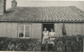 Elizabeth and Betty Heaps in Pymoor.. Elizabeth & Betty Heaps
