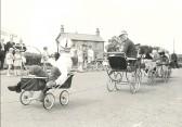 Pram Race, Pymoor, circa 1960.