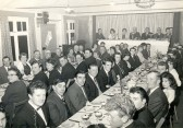 First formal dinner of Pymoor Cricket Club was held in the WI Hall in Main Street, Pymoor, 1966.