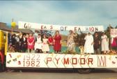 Pymoor WI float, Main street, Pymoor, circa 1982.