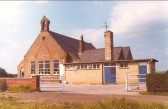 Pymoor School . Trinity Mission-House was set up as a combined church and..
