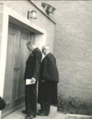 The opening of the New Methodist Chapel in Main Street, Pymoor..  This was the opening of the New Methodist Chapel,all the..