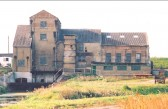 Hundred Foot Bank Pumping Station, Pymoor.(Back View). circa 2000