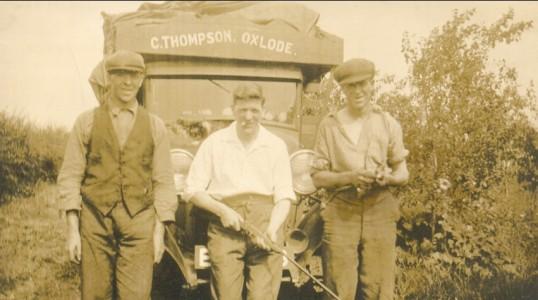 Thompson's Haulage, Oxlode, Pymoor.. Cornelius Thompson
