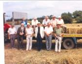 Feofees on a ride around Pymoor, circa 1980