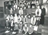 "Pymoor Primary School children who performed the pop musical ""Joseph and the Amazing Technicolour Dreamcoat"" at their end of term concert.1978."