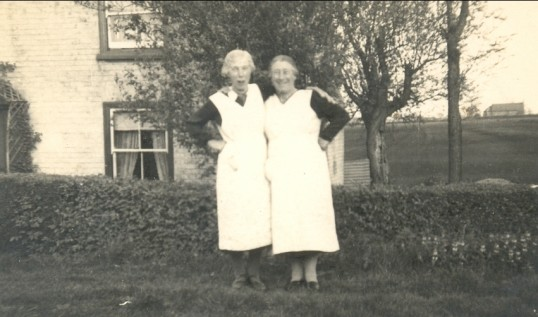 Nance Badcock and Augustus Rodgers. (Two Ladies at Oxlode, Pymoor.)