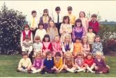 Pymoor School Class, Pymoor. circa 1970