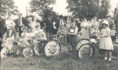 A Bike & Fancy Dress Parade at the Pymoor Garden Fete, Pymoor 1951.