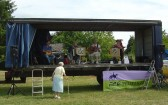 Joan Saberton enjoys the music of 'Eel Pie' at the Pymoor Agricultural & Country Show 2010.