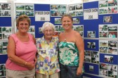 Cynthia Parson, Vera Saberton & Tina Parson at the Pymoor Agricultural & Country Show 2010.