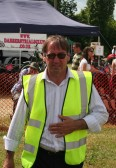 Steve Knowles at the Pymoor Agricultural & Country Show 2010.
