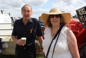 Graham & Kath Lark at the Pymoor Agricultural & Country Show 2010.