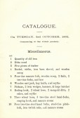Brochure for the sale of Horses, Neat Stock, Swine, Poultry & Property belonging to William Martin Deceased of Oxlode, Pymoor.