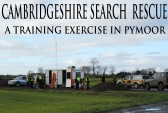 The Cambridge Search & Resue Unit on a training exercise on Oxlode Farm, Pymoor.