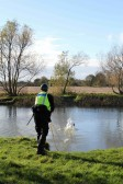 The Cambridge Search & Resue Unit on a training exercise at Oxlode Lakes, Pymoor.