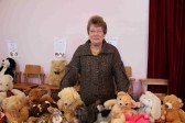 Joan Butcher at the Pymoor Methodist Chapel Christmas Bazaar 2010.