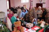 Many people came to the Pymoor Methodist Chapel Christmas Bazaar, 2010.