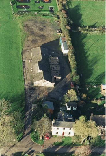 Pymoor Cricket Club, Pymoor Lane, seen from the air, 2005.