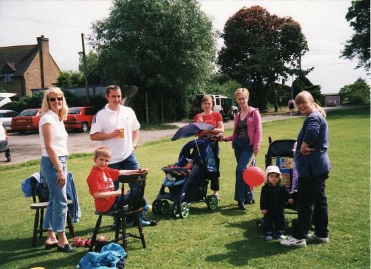 Queen Elizabeth II's Golden Jubilee Celebrations in Pymoor, 2002.