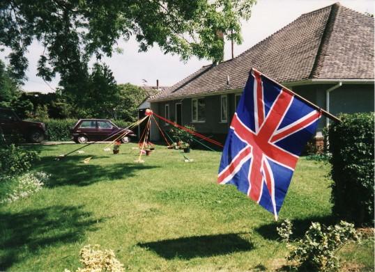 Queen Elizabeth II's Golden Jubilee Celebrations in Pymoor.