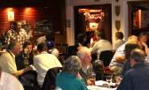 Gary Palmer, asking the questions during his Charity Quiz at the Pymoor Social Club, Pymoor 2011.
