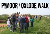 Villagers & friends enjoyed a walk around Pymoor & Oxlode 2011.