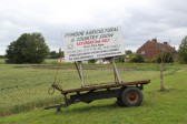 Boards advertising the Pymoor Agricultural & Country Show 2011 are appearing all around Pymoor & the Fens. Here is one Westmoor Common, Main Street.