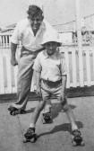 Charles and Roger Sulman of Pymoor, circa 1952
