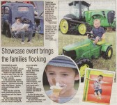 Article in the Ely Weekly News about the very sucessful Pymoor Agricultural & Country Show held on the 2nd July 2011.