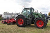 Many tractors arrive on the evening prior to the Pymoor Show 2011