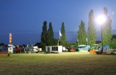 It is midnight and the Pymoor showground is floodlit. All that is needed now is a fine sunny day tomorrow! 2011