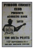 The acoustic rock band The Delta Pilots entertained friends & villagers at the Pymoor Cricket & Social Club, Pymoor Lane, Pymoor.