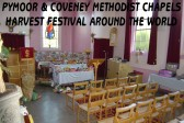Pymoor & Coveney Methodist Chapels held their 'Around the World' Harvest Festival at the Chapel in Main Street, Pymoor 2011.