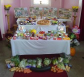 Pymoor & Coveney Methodist Chapels held their 'Around the World' Harvest Festival at the Chapel in Main Street, Pymoor 2011.