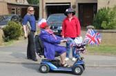 Fran Flack, Alocha Barker & Rosemary Davis at the Royal Wedding Fun Day in Pymoor 2011.