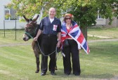 Graham & Kathy Lark at the Royal Wedding Fun Day in Pymoor 2011.