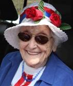 Joan Saberton at the Royal Wedding Fun Day in Pymoor 2011.